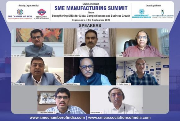 SME MANUFACTURING SUMMIT – 3 SEPT 2020