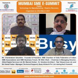 MUMBAI SME E-SUMMIT – 23 March 2021