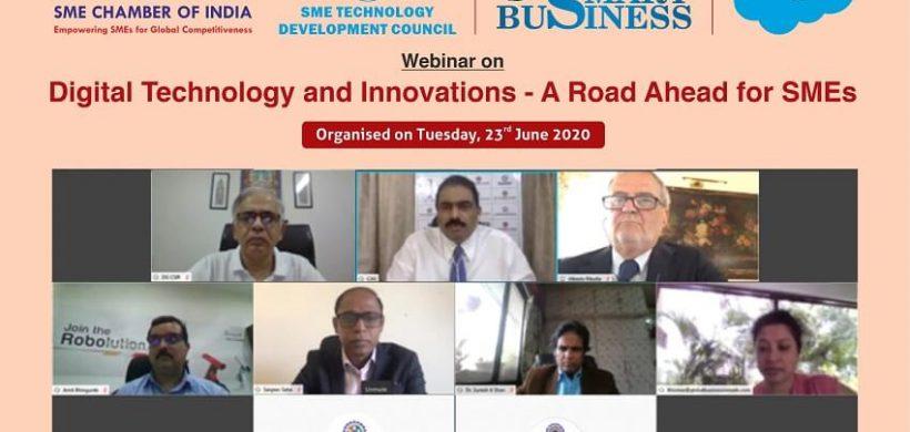 Webinar on Digital Technology and Innovations – 23 June 2020